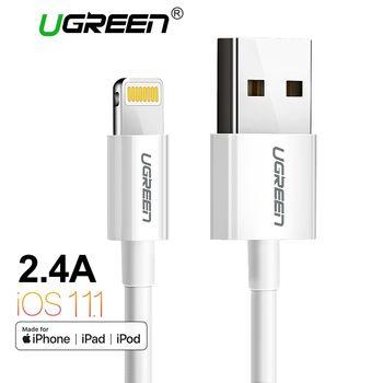Ugreen MFi Foudre au Câble USB pour iPhone X 7 6 5 6 s Plus Rapide De Charge USB Câble de Données pour iPhone 5S 5C Téléphone Mobile SE câble