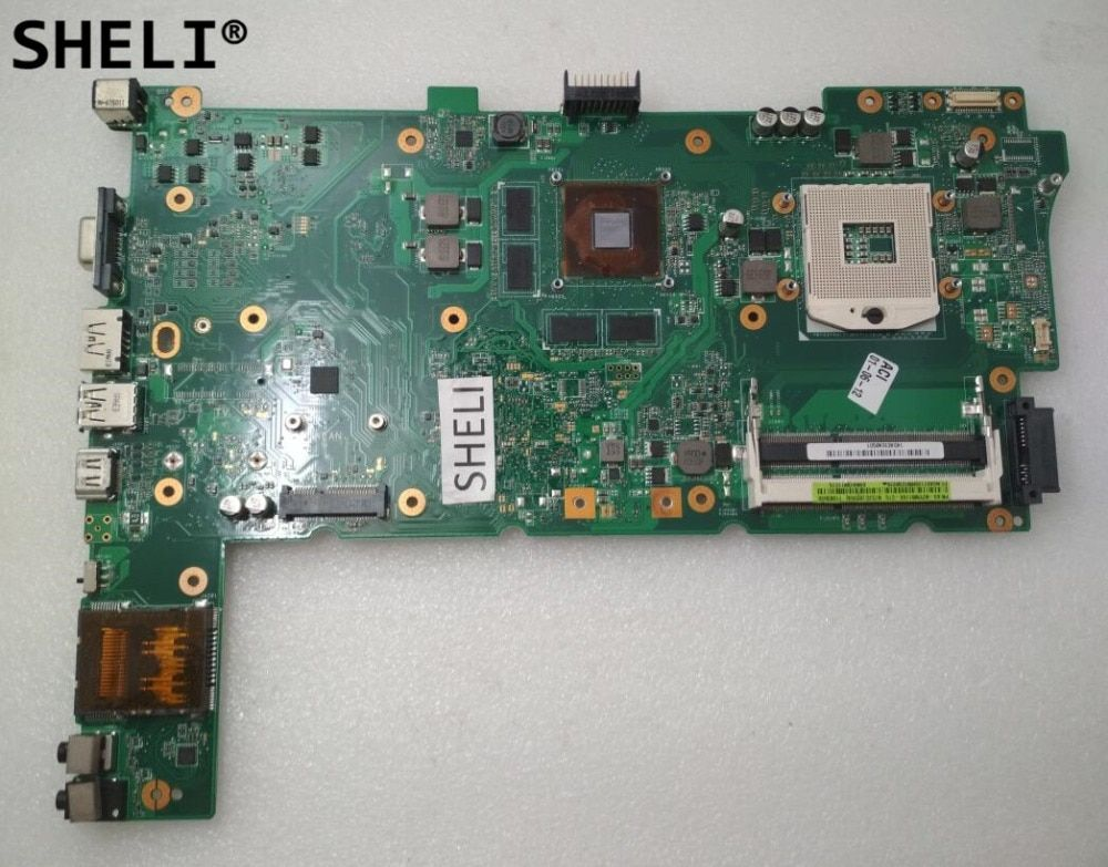 SHELI For ASUS N73JG N73JQ N73JF Motherboard with N11P-GS-A1 GT425M REV 2.1