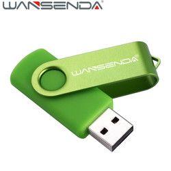 Wansenda 16 gb rotatif USB Flash Drive 64 gb 32 gb pivotant Pen Drive 128 gb usb memory stick flash drive 8 gb usb 4 gb usb 2.0 pendrive