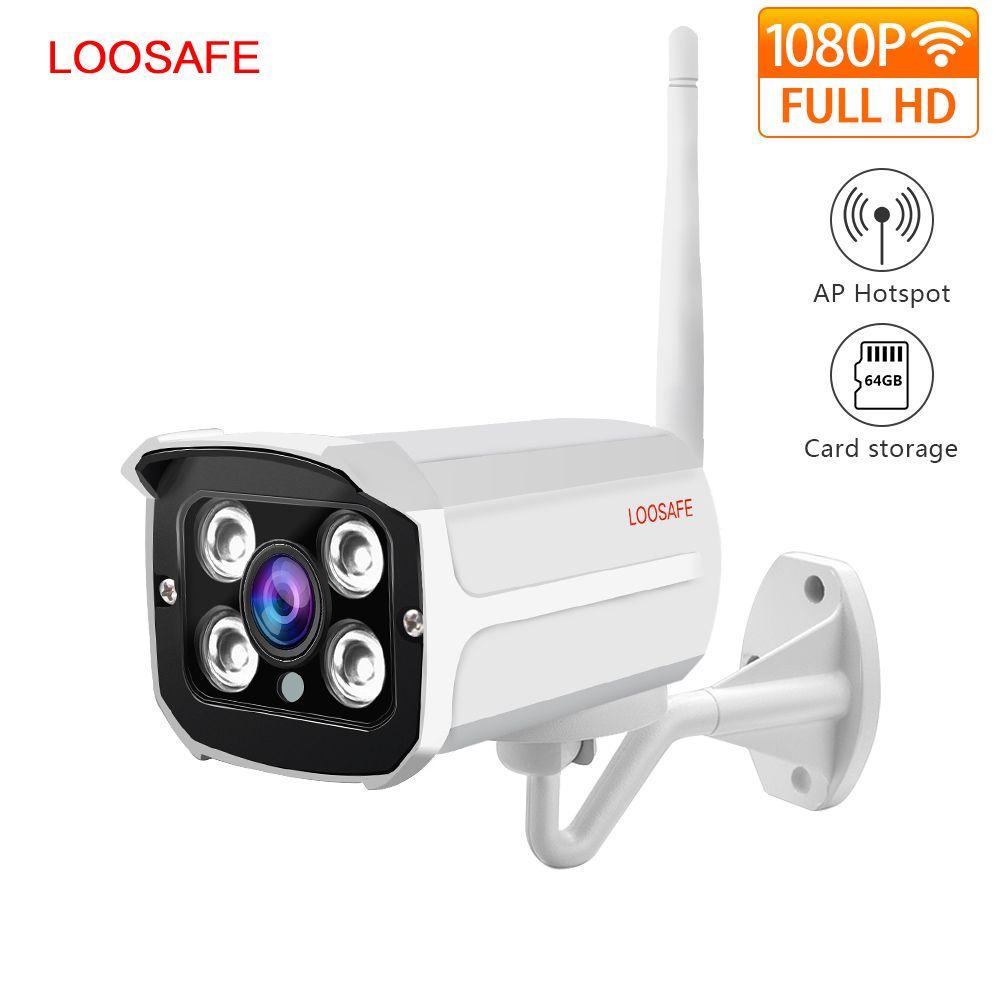LOOSAFE 2MP IP caméra maison Wifi sécurité IP caméra balle caméra CCTV Surveillance extérieure CCTV complet IP66 caméra étanche
