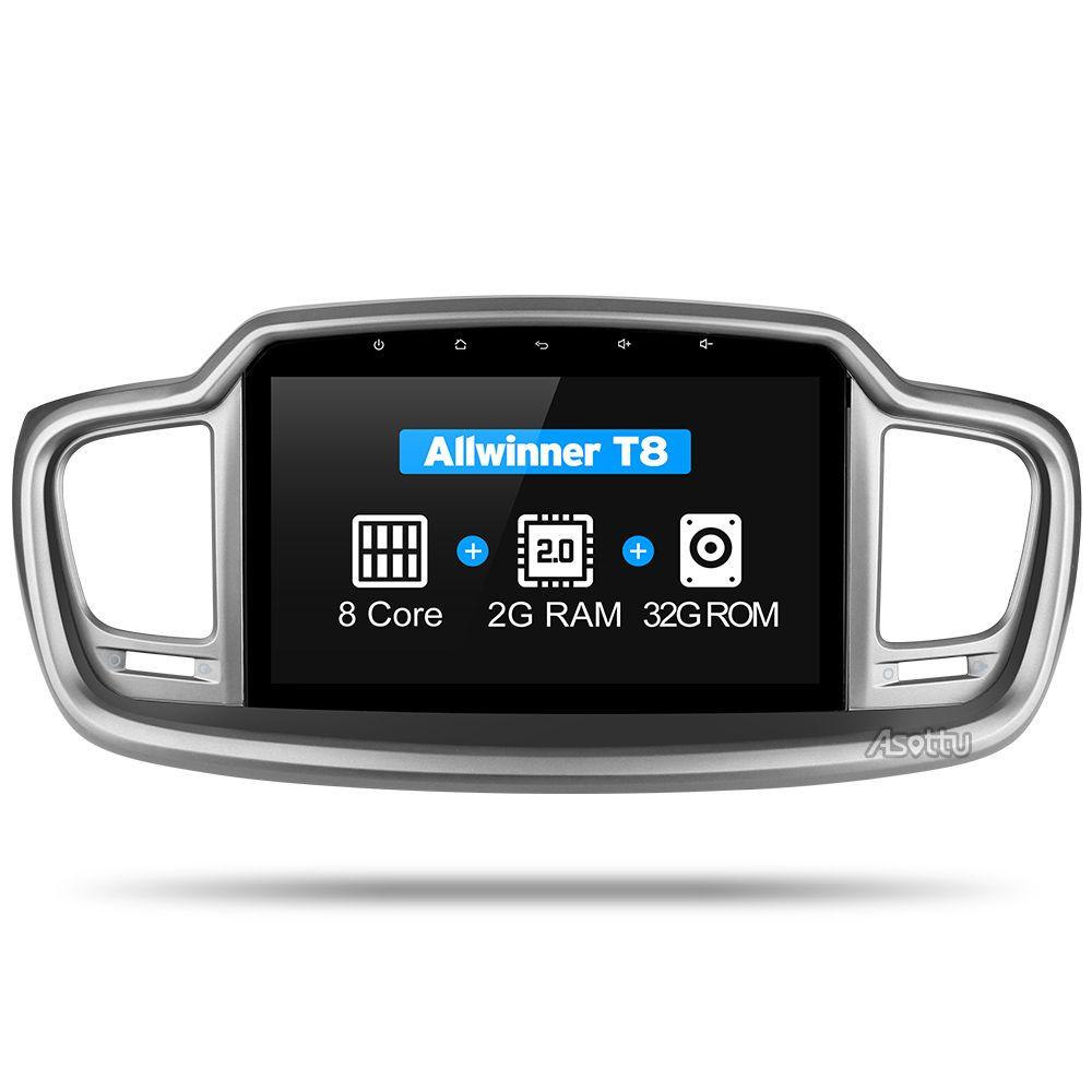 2G + 32G Android 7.1 octa-core für kia Sorento 2015 2016 auto dvd gps navigation dvd-spieler autoradio audio video player 2 din gps