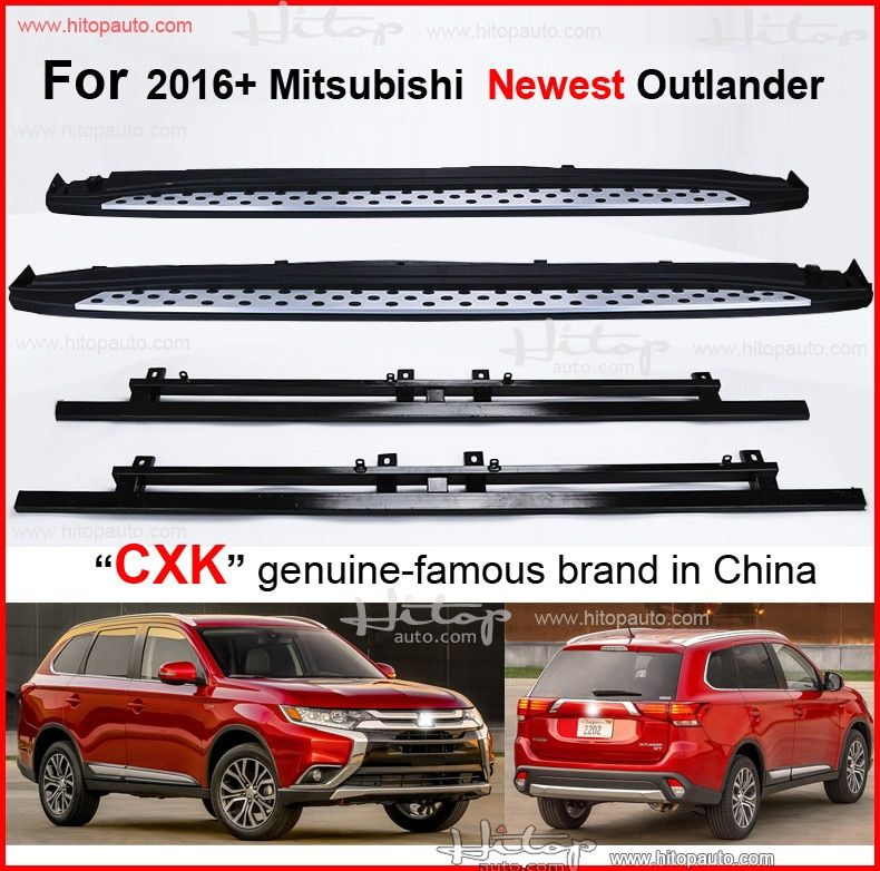foot step nerf bar running board for Mitsubishi Outlander 2016 2017 2018,