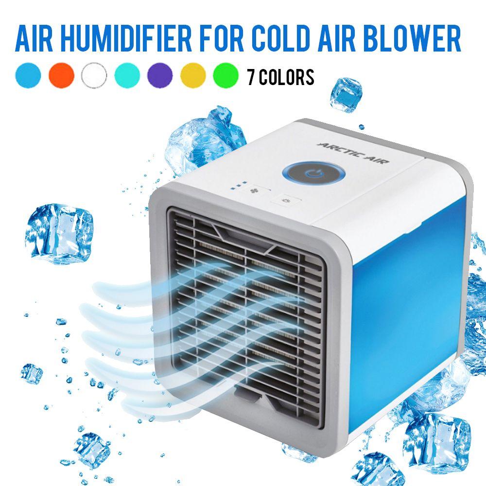 USB Mini climatiseur dispositif cool apaisant vent refroidisseur ventilateur Air espace personnel refroidisseur Portable pour bureau maison