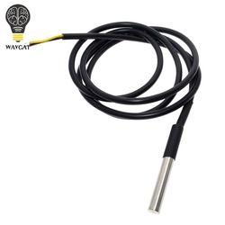 1 pcs DS1820 paquet en acier Inoxydable Étanche DS18b20 température sonde température capteur 18B20 Pour Arduino