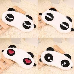 Cute Panda Sleeping Face Eye Mask Blindfold Eyeshade Traveling Sleep Eye Aid Drop Shipping Wholesale