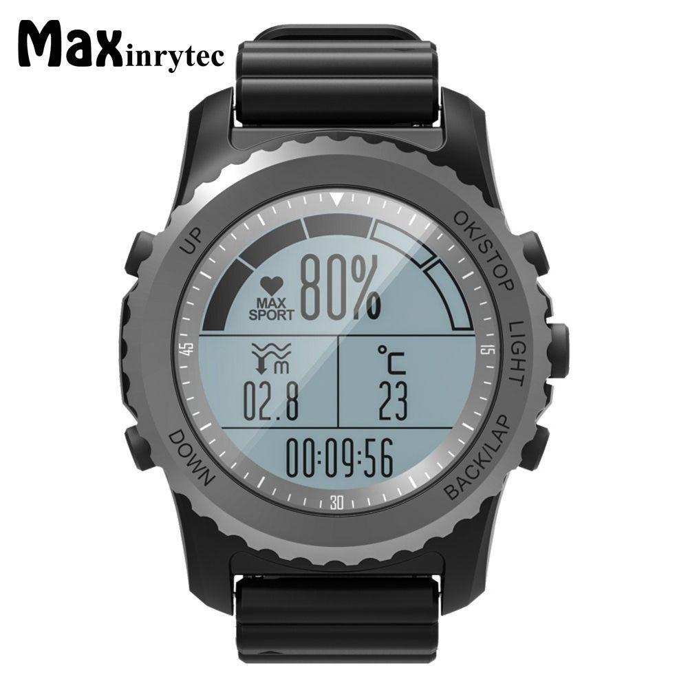 Original S68 GPS Sport Smart Watch Waterproof Sleep Heart Rate Monitor Thermometer Altimeter Pedometer GPS Smartwatch Men