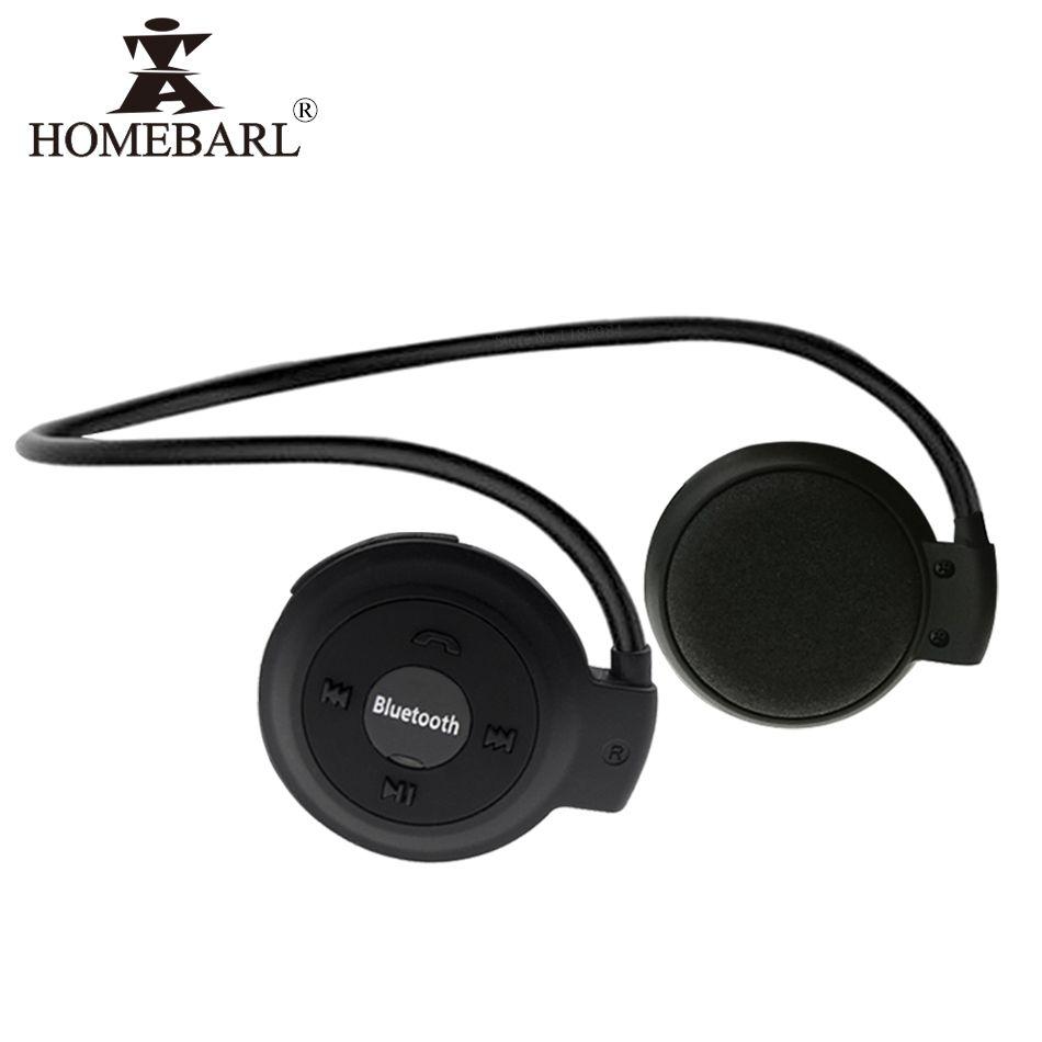 HOMEBARL 3D Mini 503 Mini503 Bluetooth 4.2 FM casque Sport sans fil casque musique stéréo écouteurs + 8 GB 16 GB Micro carte SD