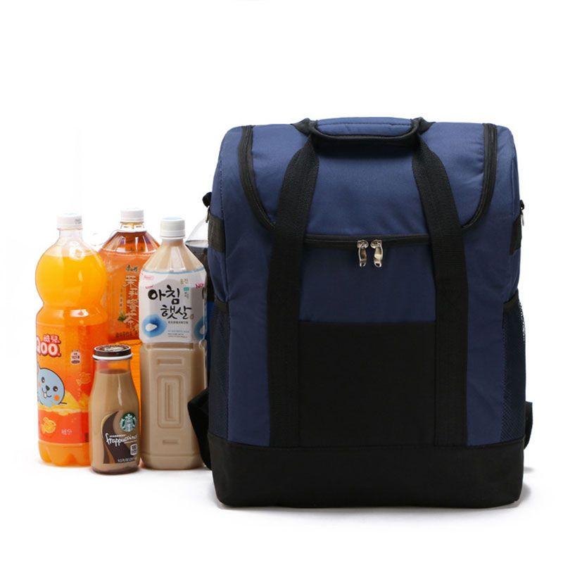 Большой сумка для хранения Для женщин мешок лед Водонепроницаемый сумка-холодильник для стейка изоляции Термальность мешок изоляции Ice Back ...