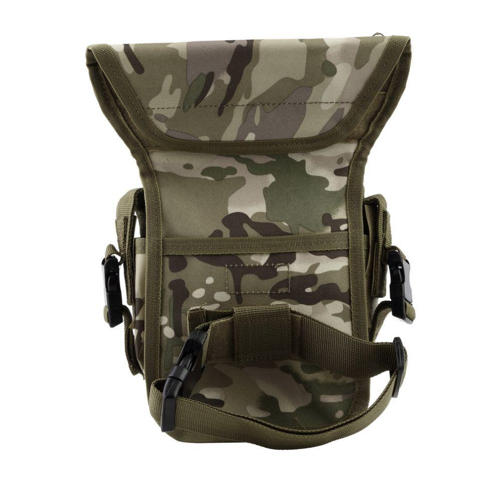 NUEVO Estilo Táctico Militar Al Aire Libre Impermeable Unisex Sólido Muslo Utilidad Bolsa de Cintura Bolsa Armas Deportes Pierna de La Gota Bolsa