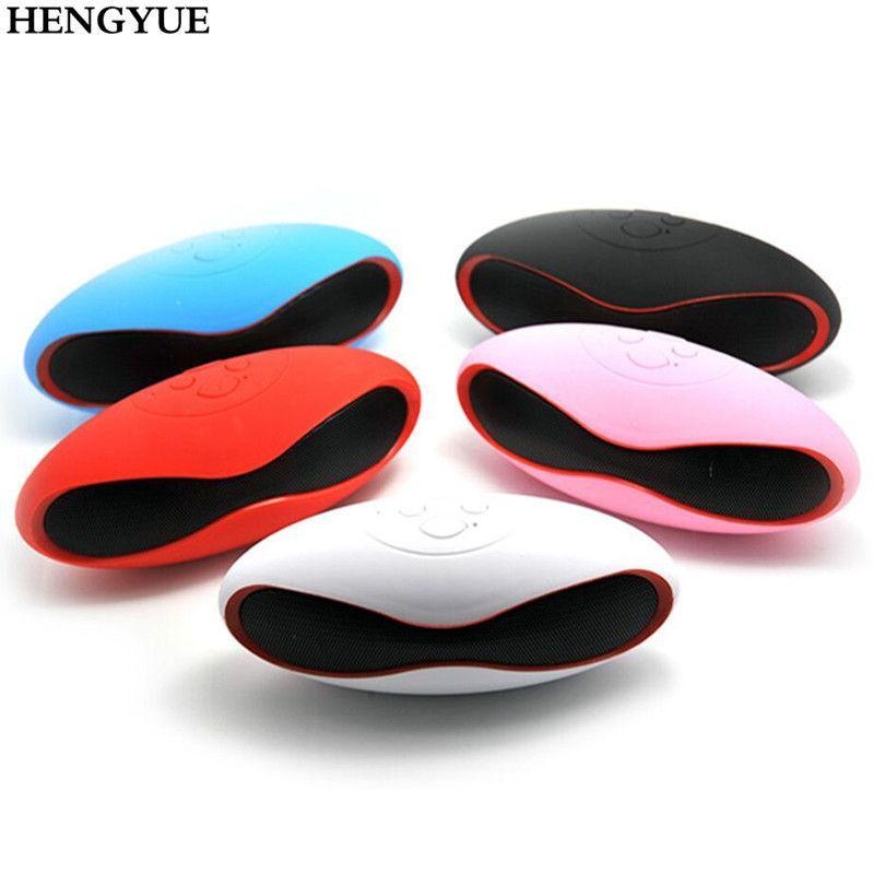 HENGYUE Hot Mult-function Mini Football Portable Speaker Wireless Bluetooth Speaker Mic Super FM Support for iPhone for Samsung