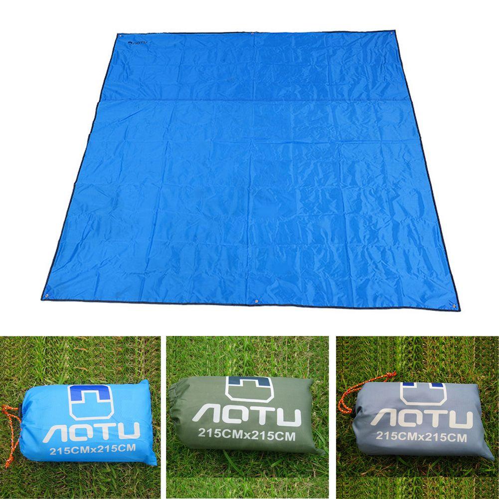 Ultraleicht Dicken Oxford Boden Falten Freien Picknick-matte Feuchtigkeitsfest Camping Matratze Pad Plane Strand Zelt Markise