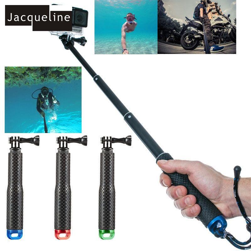 Jacqueline pour Sous-Marine Étanche Selfie Sticks Manfrotto pour Gopro hero HD 6 5 4 3 + 3 pour SJCAM pour EKEN