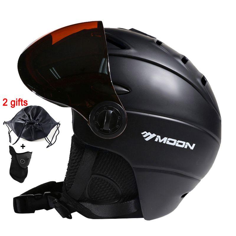 MOND Skifahren Helm Integral geformten PC + EPS CE Zertifikat Erwachsene Ski Helm Outdoor-Sport Snowboard/Skateboard Helm