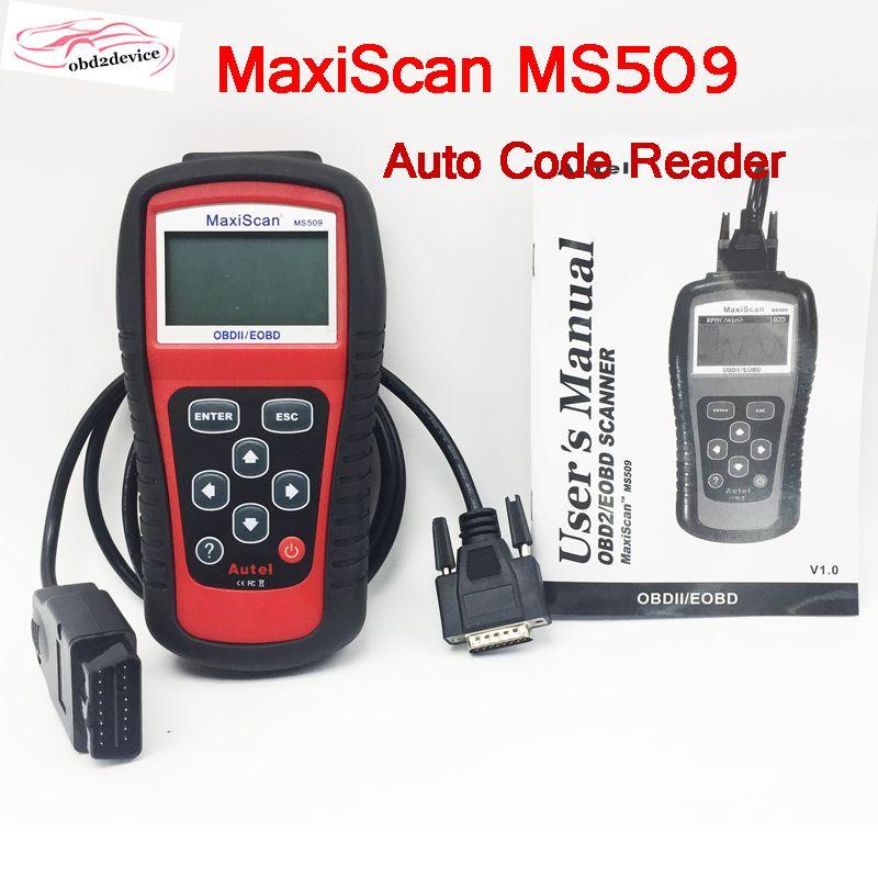 Auto Code Reader Tester Autel MS509 OBDII Auto OBD2 Scanner Maxiscan MS509 Automotive Diagnostic Multi-Sprachen Fahrzeug Werkzeug