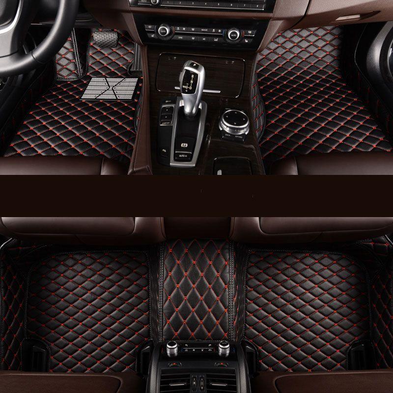 kalaisike Custom car floor mats for Hyundai All Models terracan accent azera lantra elantra tucson iX25 i30 iX35 Sonata