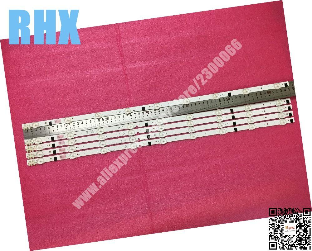 5 teile/los FÜR samsung 32 zoll UA32F4088AR LCD TV LED-backlight D2GE-320SC0-R3 2013SVS32H 9 REV1.8 130103 1 stück = 9LED 650 MM