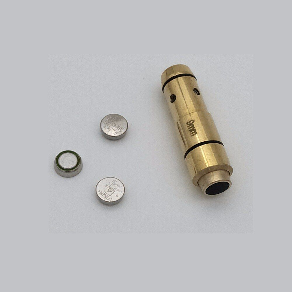 9mm Laser Ammo, Laser Kugel, Laser Ammo, Laser Patrone für Trockene Feuer, für Schießtraining