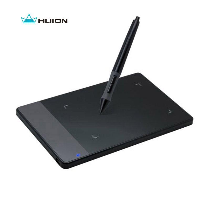 D'origine HUION 420 4-Pouces Numérique Comprimés Mini USB Signature Stylo Tablette Graphique Dessin Tablet OSU Game Tablet