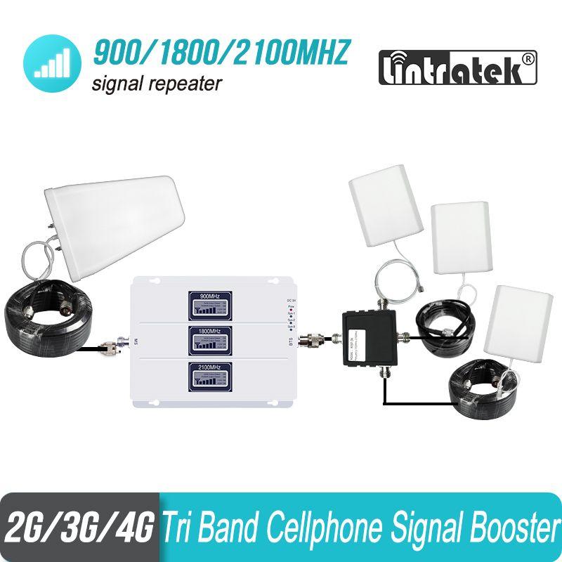 3 stücke Interne Antenne Set 2G 3G 4G 900 1800 2100 Tri Band Handy Signal Repeater ALC Booster Verstärker GSM WCDMA LTE #8 + 1
