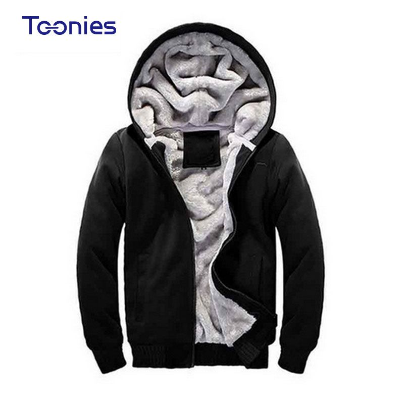New 2017 Mens Clothes Hooded Hoodies Sweatshirt Men Sportswear Hoody Man Thick Warm Hoodie Sudaderas Hombre Plus Size Sudadera