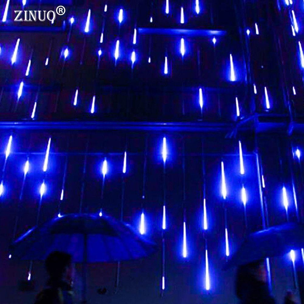 ZINUO 30CM/50CM Meteor Shower Rain Tubes AC100-240V LED Christmas Lights Wedding Party Garden Xmas String Light <font><b>Indoor</b></font>/Outdoor