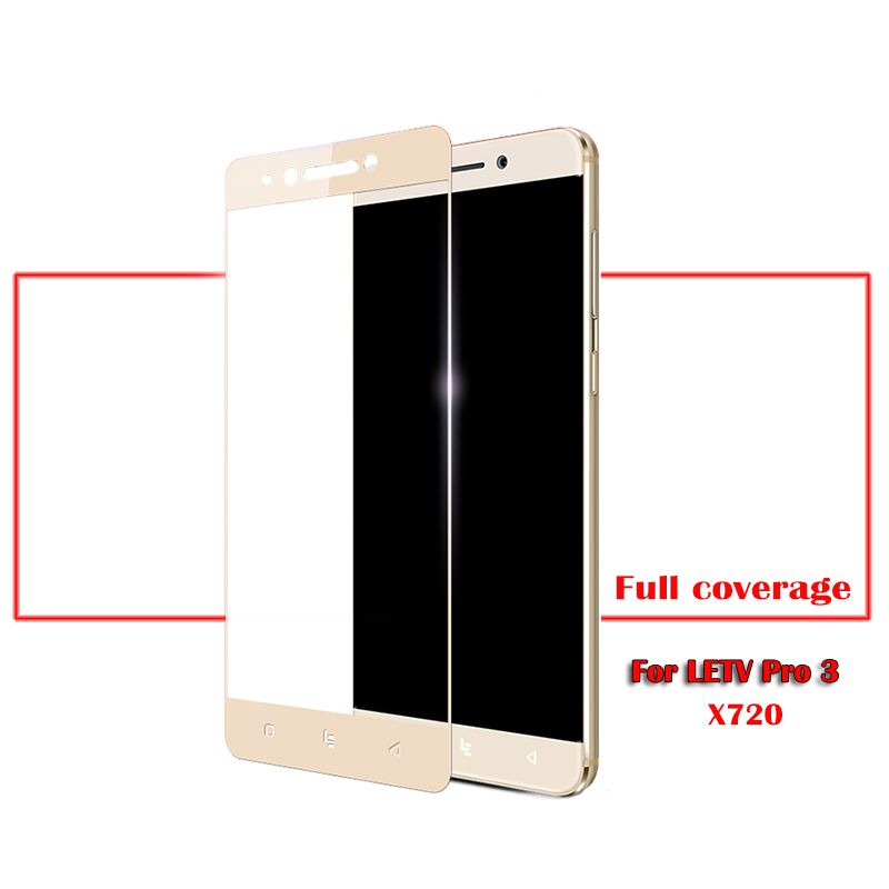2pcs/lot Full Screen Tempered Glass For Letv LeEco Le Pro3 Screen Protector Film For LE pro 3/3pro X720 Coating Glass Protective