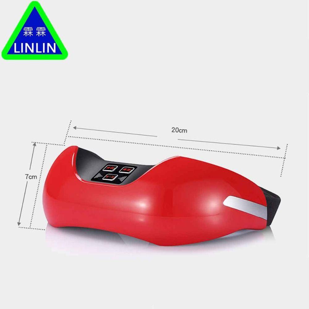 LINLIN Drahtlose lade augenschutz instrument, 3D grün licht vision wiederherstellung ausbildung instrument, EMS puls auge massager.