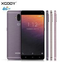 XGODY Y19 6,0 pulgadas Smartphone Android 7,0 4G LTE huella dactilar 2 + 16 GB Quad Core 2900 mAh 13MP GPS WiFi Dual SIM teléfonos celulares