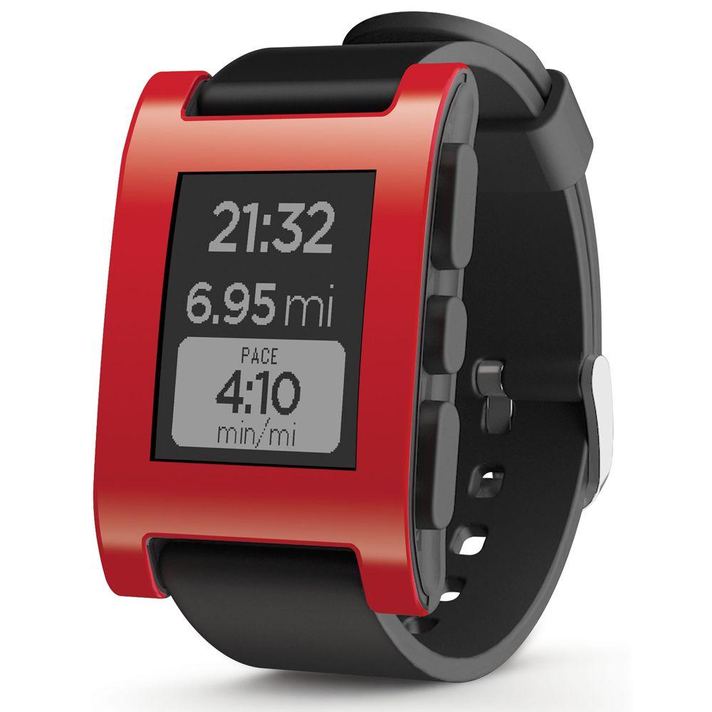 ZycBeautiful for Pebble Classic E-Paper Smartwatch Multi-Functions Pebble Sports Watch 5-ATM Waterproof Smart Watch
