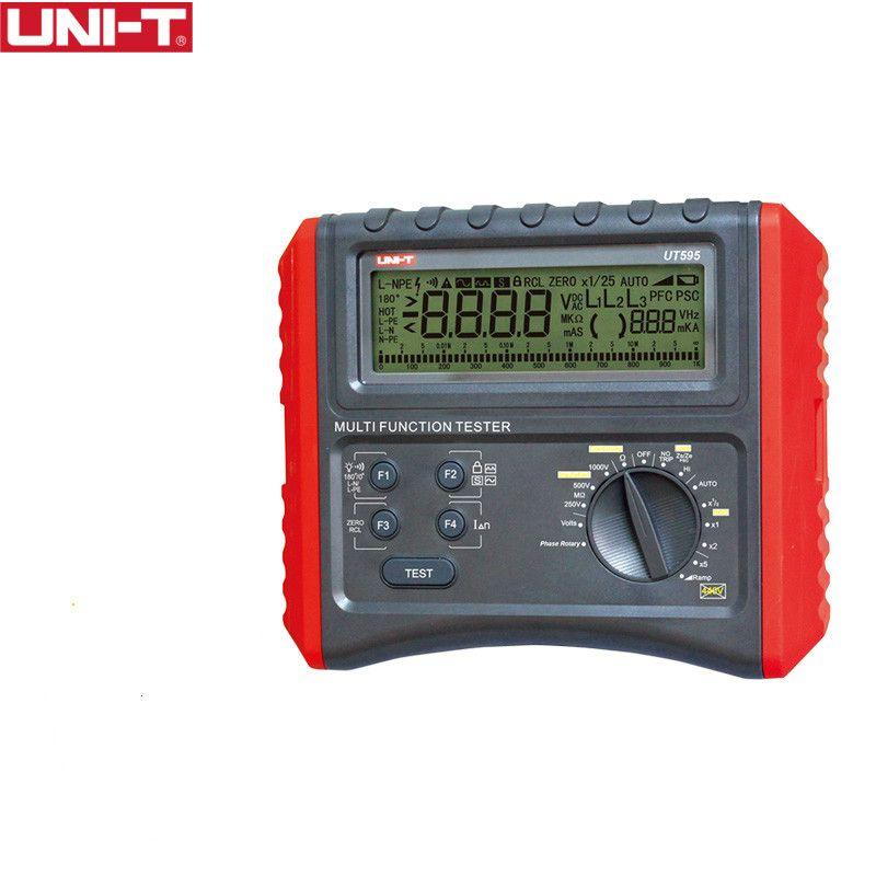 UNI-T UT595 Multifunktions Schleife Tester Erde Boden Linie Schleife Impedanz Tester Isolierung Widerstand Meter