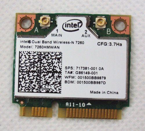 Intel Sans Fil-n 7260 802.11bgn 2x2 2.4 ghz Wifi + Bluetooth 4.0 802.11b/g/n adaptateur 7260hmw Bn 802.11n Sans Fil Carte Pour Ordinateur Portable
