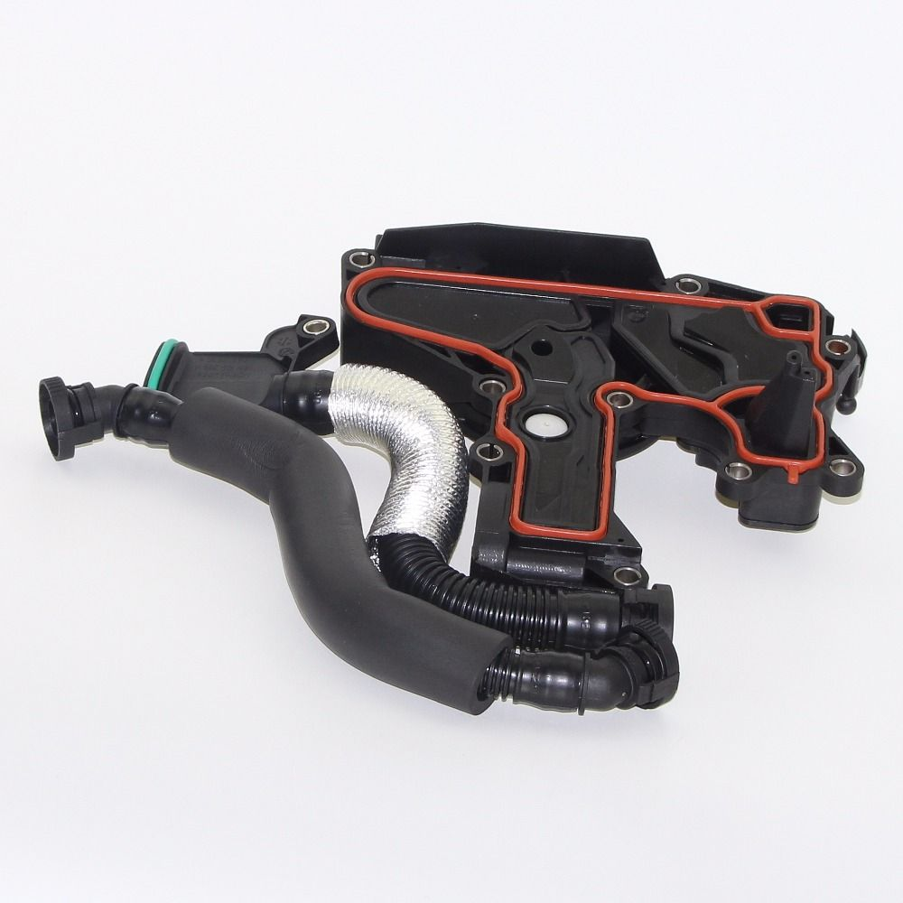 NEW OEM PVC Oil Water Separator + Breather Hose Exhaust Pipe For Golf Jetta Passat Octavia Seat Leon 06H 103495 06H103495