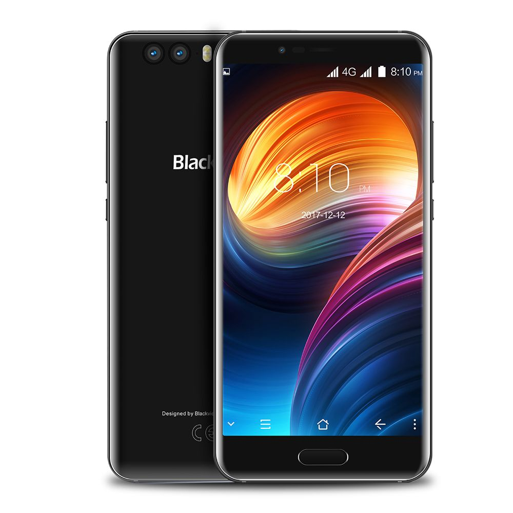 Blackview P6000 4G Smartphone 5.5 Inch Android Octa Core 6GB 64GB Dual Rear Camera Face Recognition 6180mAh Battery Mobile Phone