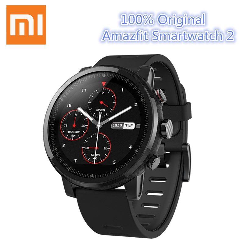 Huami Amazfit SmartWatch 2 Бег Xiaomi часы GPS Xiaomi чип Alipay оплаты Bluetooth 4.2 двунаправленный для IOS/Android телефон