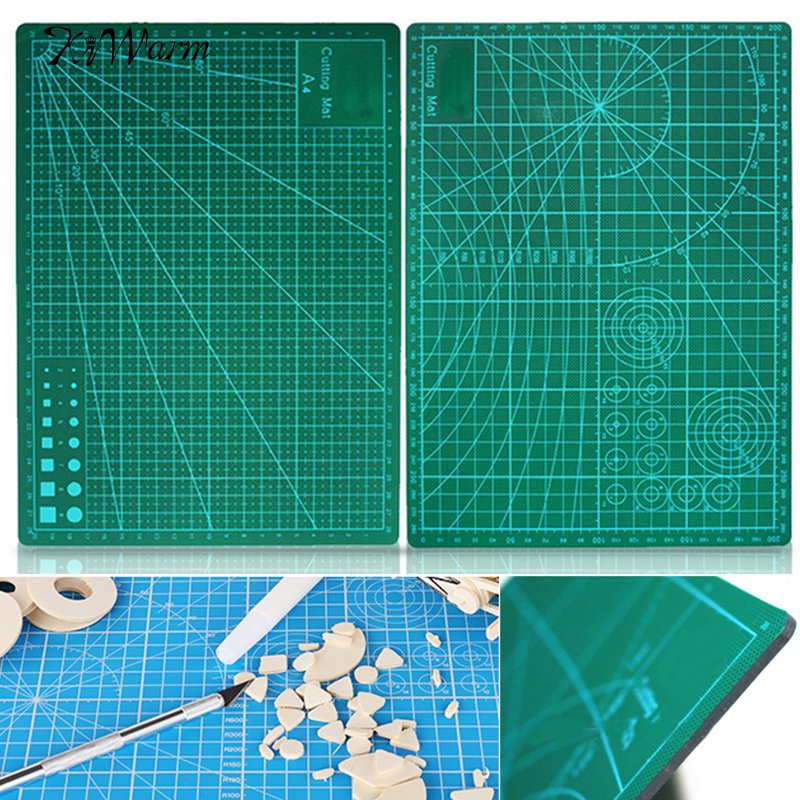 Green Cutting Mat Board A4 Size Pad Model Hobby Design Craft Tools Patchwork Fabric Leather Paper Board
