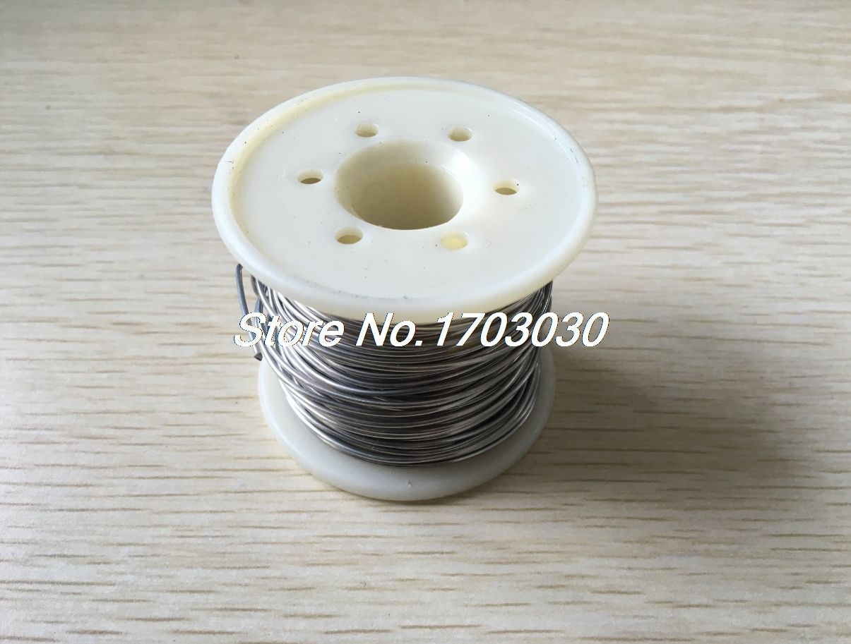 7.5Meter 1mm Diameter AWG18 1.388 Ohm/M Nichrome Resistor Wire for Kiln Furnace
