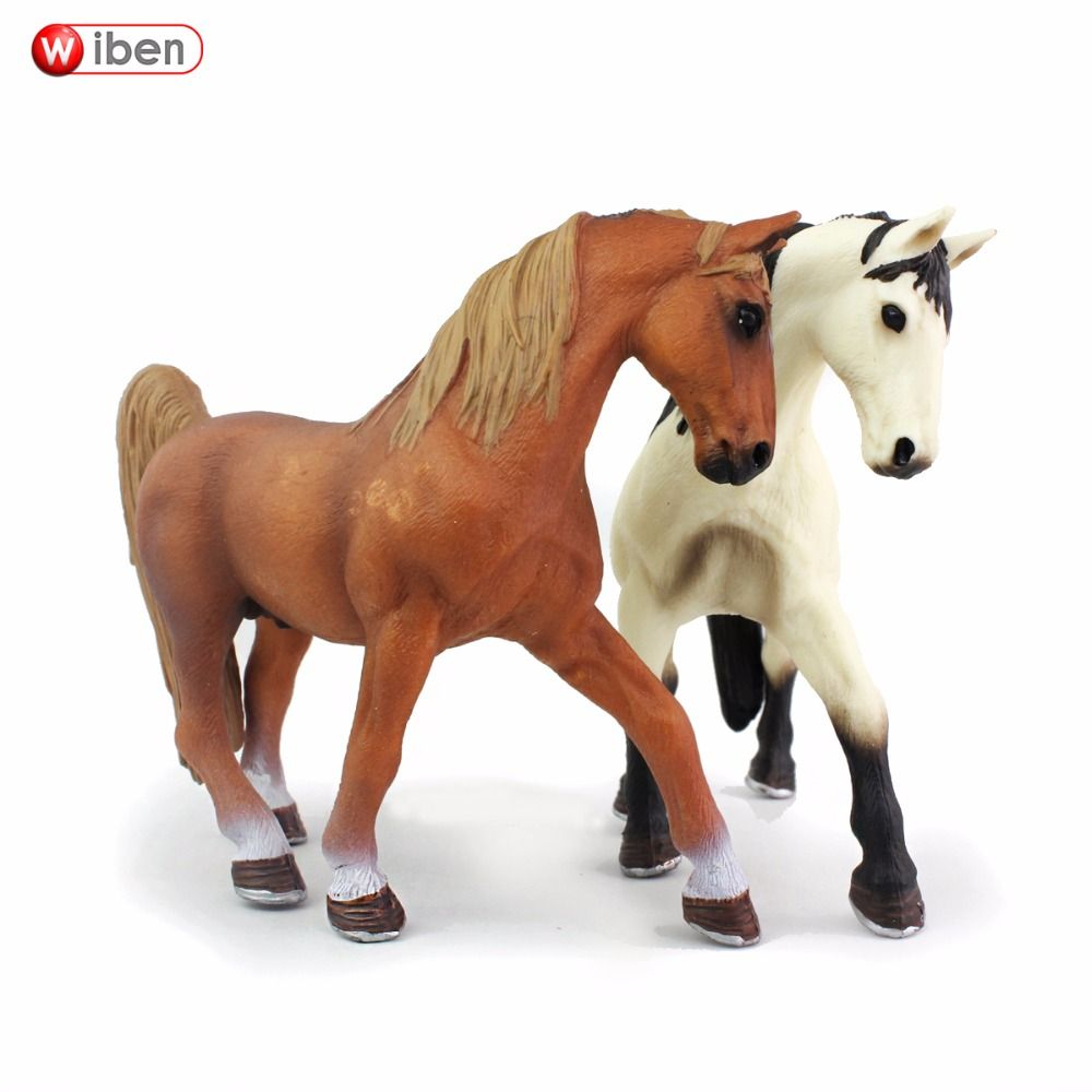 Wiben Horse High Quality Simulation Animal Model Action & Toy Figures Educational Christmas Gift Kids
