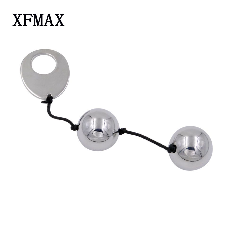XFMAX Metal Kegel Ball Vagina exercise Vaginal Trainer Love Ben Wa Pussy Muscle Training adult Toys for <font><b>couples</b></font> Sex Products