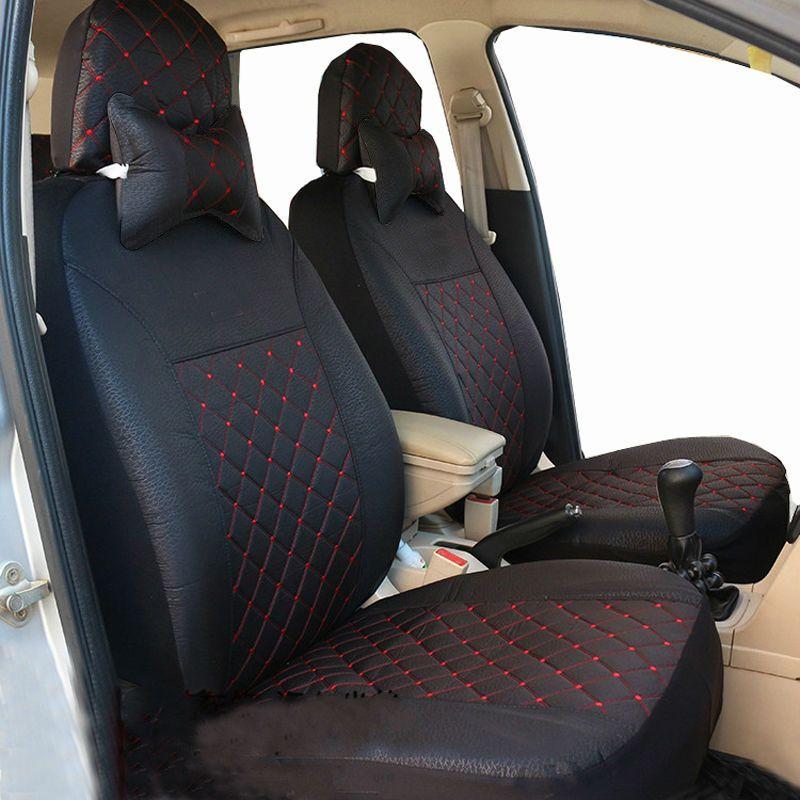 Carnong auto housse de siège auto ensemble universel accessoire intérieur en tissu housse de siège auto protection quatre saisons 5 places housse standard