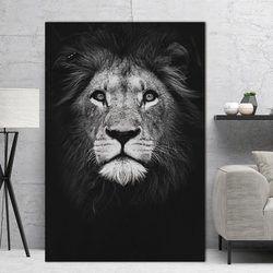 Nordique affiche Mur de toile art animal toile peinture deor Mur Photos impression pour Salon Art Photos morden impression