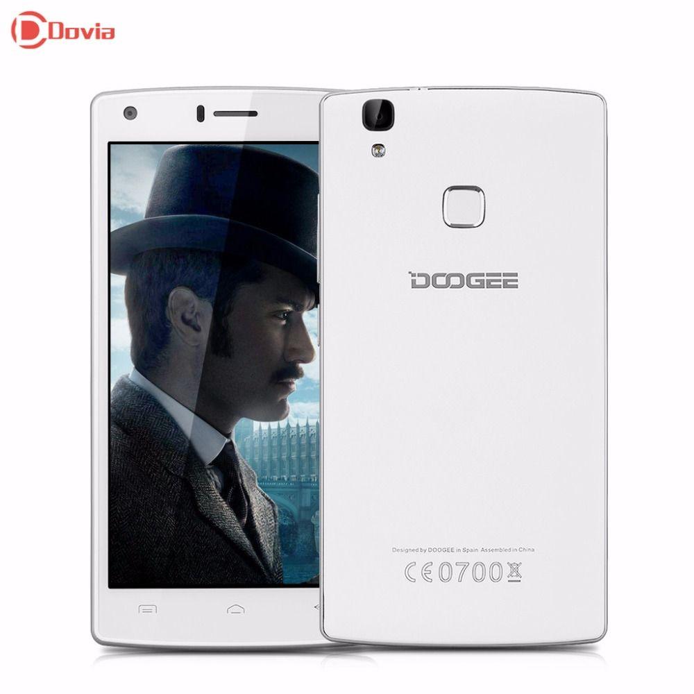 DOOGEE X5 MAX Pro  Android 6.0 4000mAh Fingerprint Phone MTK6737 Quad Core 5.0