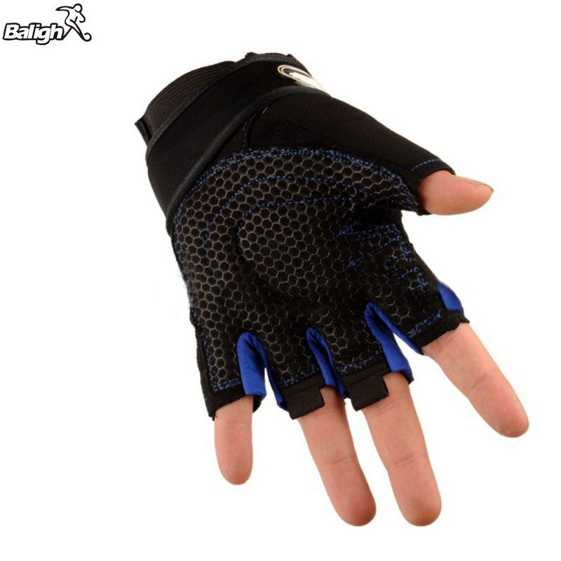Balight Men Women Custom Fitness Exercise Training Gym Gloves Bicycle Body Building Training Sports Fitness WeightLifting Gloves
