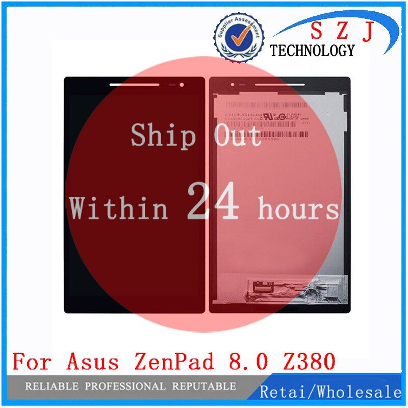 New 8 inch For Asus Zenpad 8.0 Z380 Z380KL Z380CX Z380CX Z380C P024 LCD DIsplay + Touch Screen Digitizer Assembly