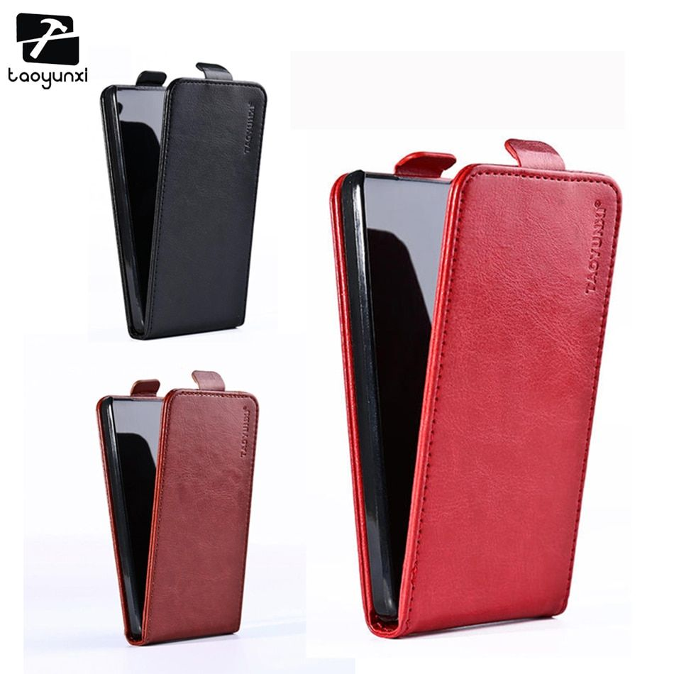 TAOYUNXI Leather Cover for ZTE Blade G Lux 4G Nubia Z5S Mini Blade L2 Z7 Max S6 Q5 A452 A460 X9 X5 D3 V7 Lite Cases