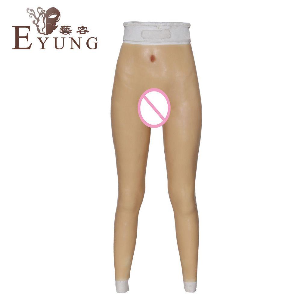 B143-2 Crossdressing pants transgender Artificial Fake Vagina for crossdresser Underwear drag queen shemale ladyboy false pussy