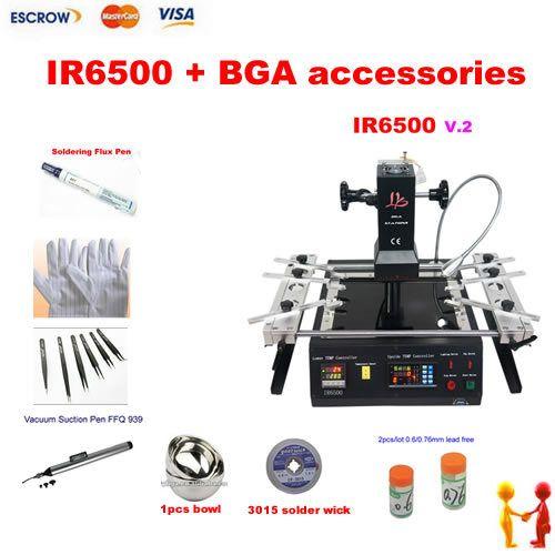 Infrared BGA Rework machine LY IR6500 v.2 . IR soldering station