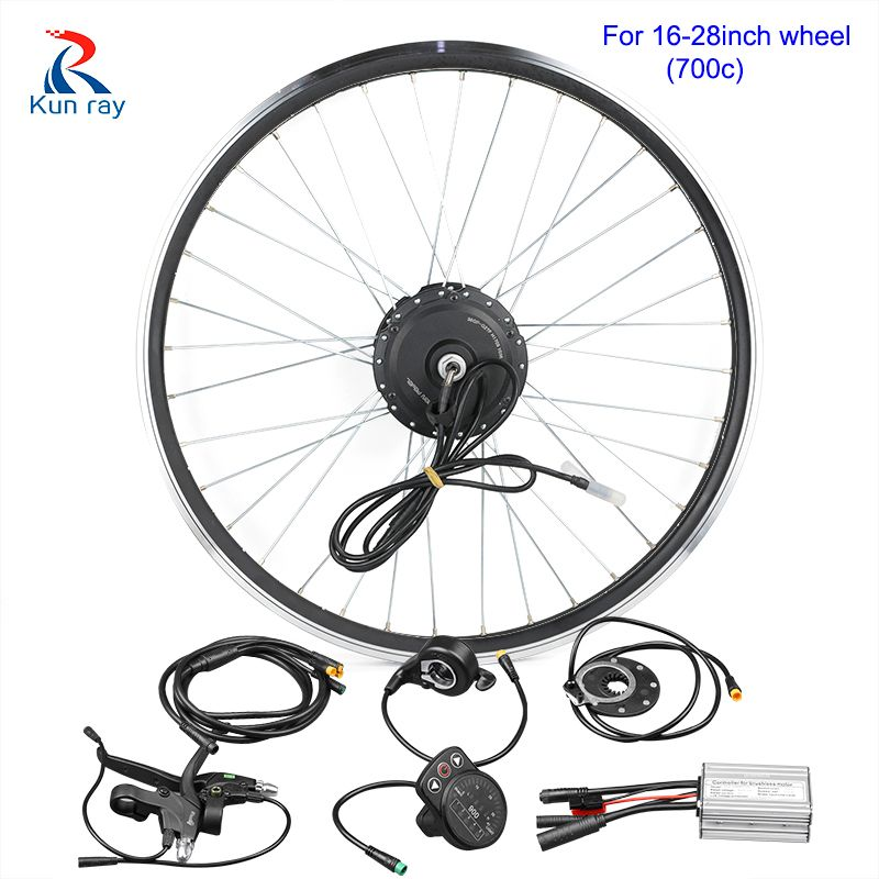 24/36/48V DC Gear Brushless bicycle Hub Motor kit 20-28