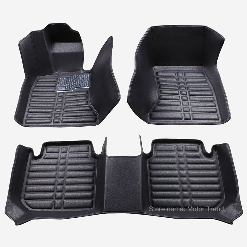Customized good car floor mats for Ford Fusion Mondeo Focus Edge Escape Kuga Explorer heavy duty car-styling all weather liners