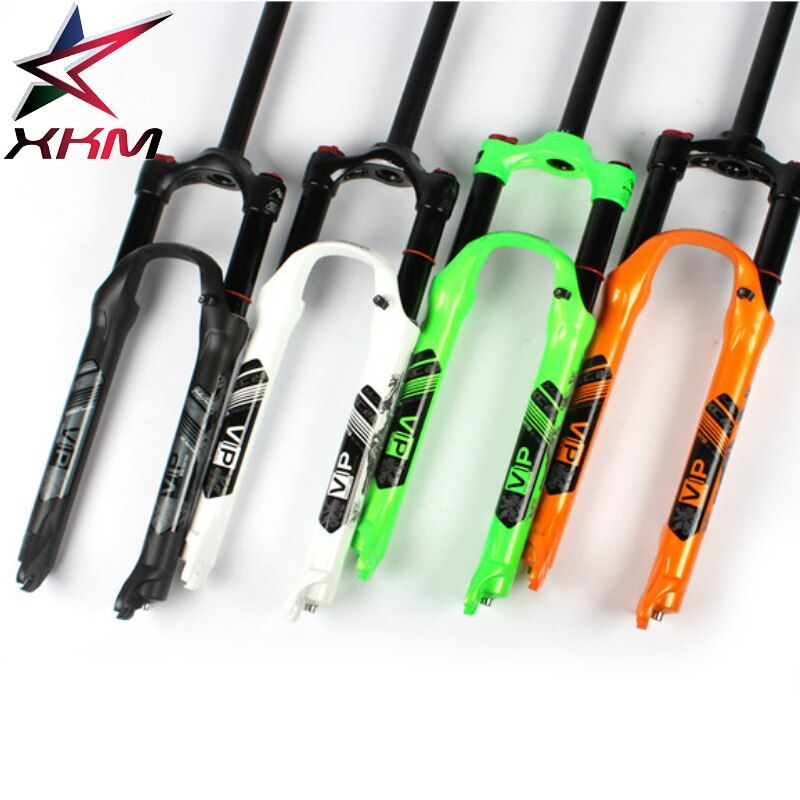 XC20 MTB Bicycle Oil and Gas Fork 26 27.5 er shoulder control local premium -black teflon coating inner tube suspension fork