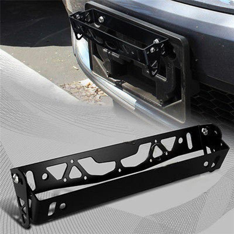 1pc New Multi Color Universal Aluminum Car JDM Styling License Plate Frame Frame Tag Holder Power License Plate Frames